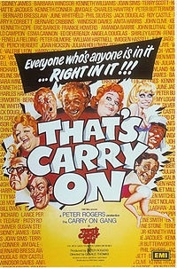 OOH MATRON!  A HISTORY OF THE CARRY-ON FILMS